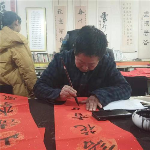 火狐体育直播平台下载滦州举办促环保书画笔会活动